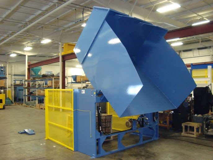 Extended Pivot Reliant Bulk Container Dumper Gaylord