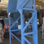Dumper Riser Stand for Gaylord Box Container Dumper