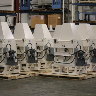 Large quantity runs of custom dumpers