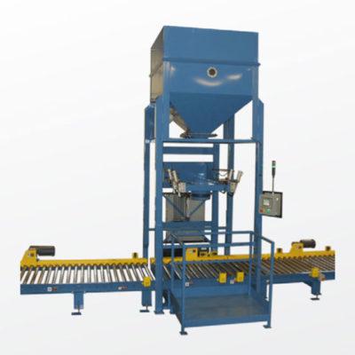 Bulk Material Handling Container Filling