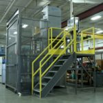 Bag Dump Station - Bag Break - Scissor Lift - Dust Collection - Dust Collector
