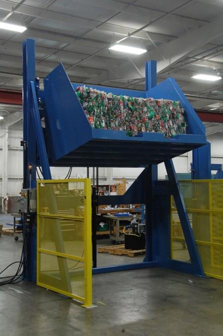 Box Dumper Lift Amp Dump Bulk Container Dumper