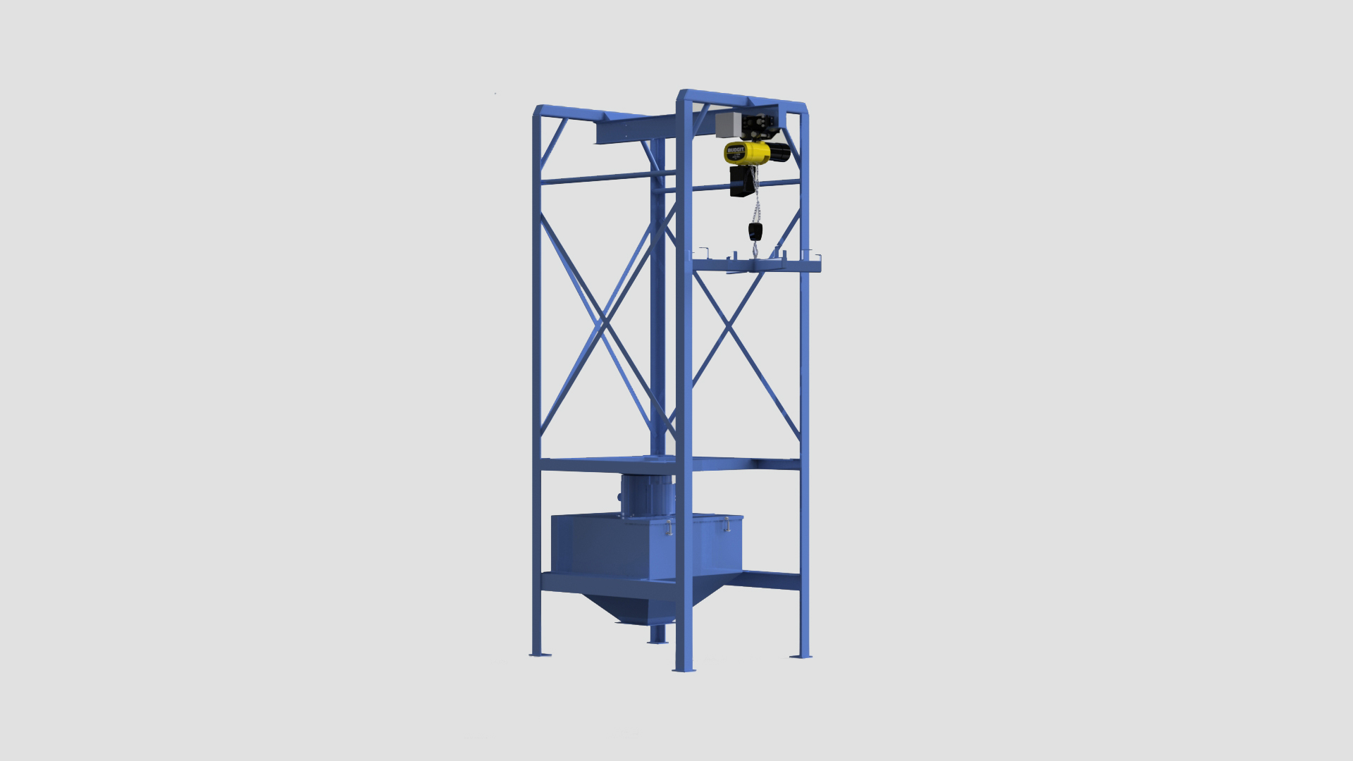Bulk Bag Unloaders Dry Bulk Bag Fibc Supersack Unloaders