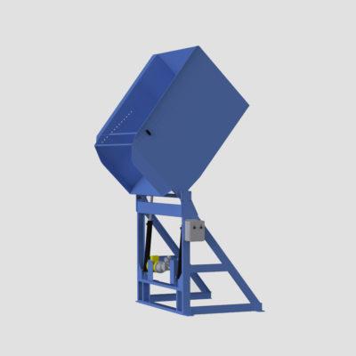 Extended Pivot Reliant Container Dumper