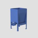 High Capacity Live Bottom Bin - Hi Cap - Live Bottom - Fully Augered Bin - Dosing Hopper - Feeder - Ensign - Ensign Equipment -2