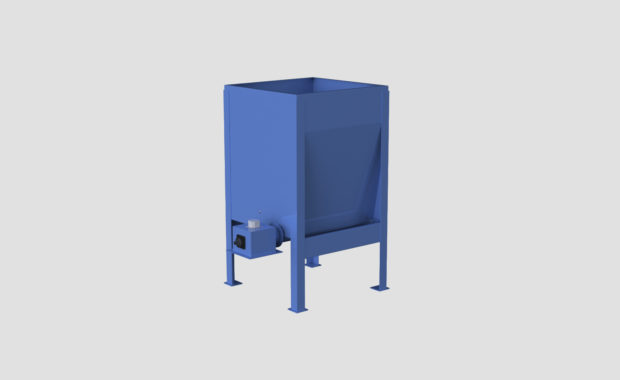 High Capacity Live Bottom Bin - Hi Cap - Live Bottom - Fully Augered Bin - Dosing Hopper - Feeder - Ensign - Ensign Equipment -2