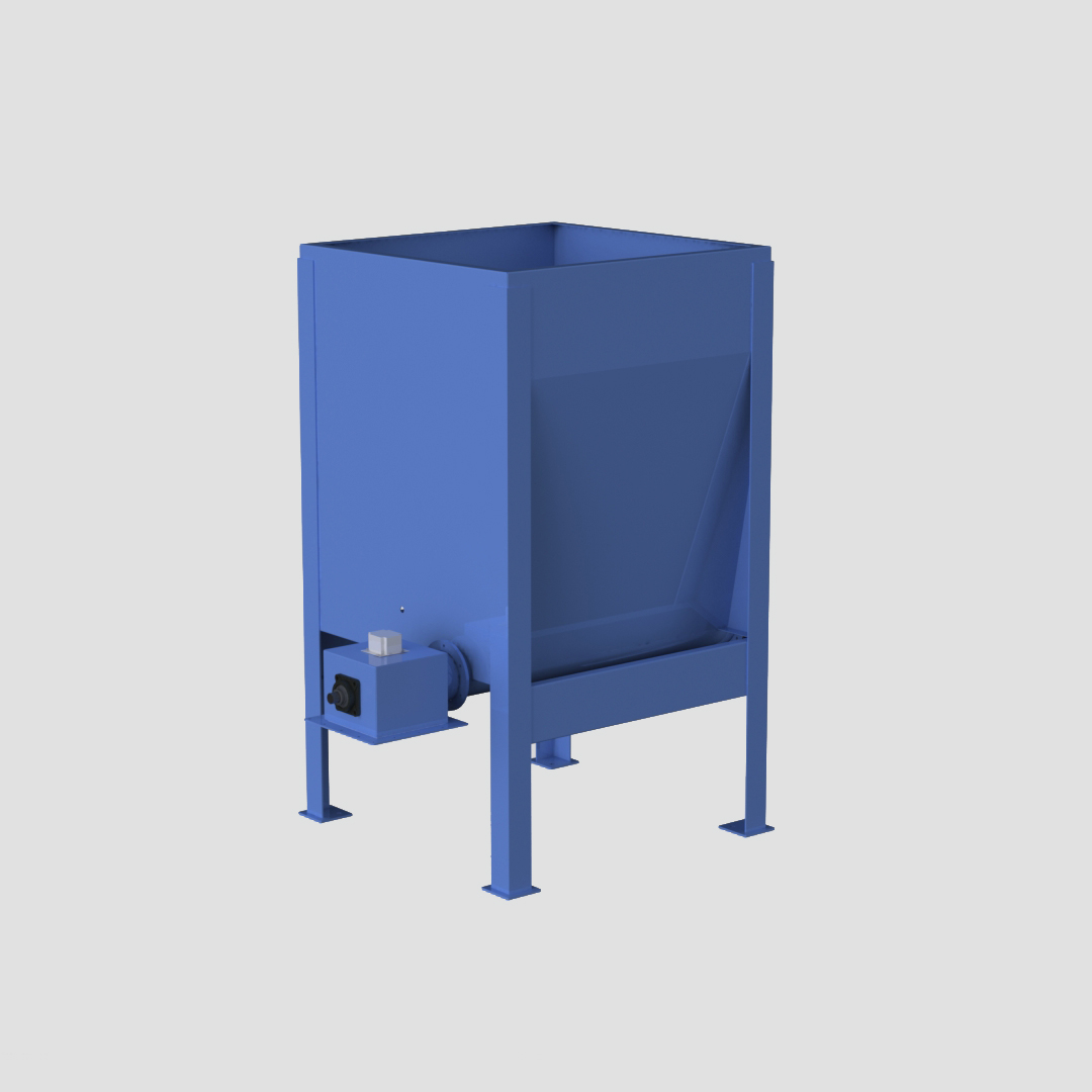 High Capacity Live Bottom Bin - Hi Cap - Live Bottom - Fully Augered Bin - Dosing Hopper - Feeder - Ensign - Ensign Equipment -3