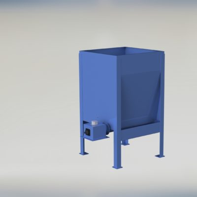 High Capacity Live Bottom Bin - Hi Cap - Live Bottom - Fully Augered Bin - Dosing Hopper - Feeder - Ensign - Ensign Equipment