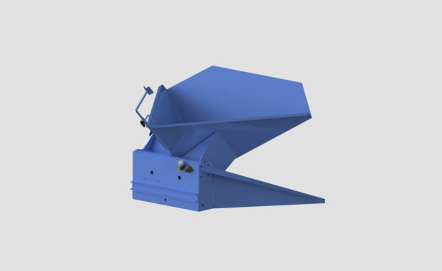 Pneumatic Bulk Gaylord Box Tilter - Container Tilter - Heavy Duty - Model 10-9000 - Ensign - Ensign Equipment - Air Operated -2