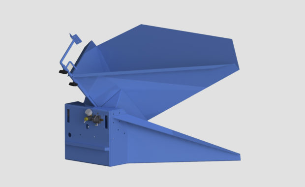 Premier Pneumatic Container Tilter (Automatic Gaylord Tilter), Tote Tipper
