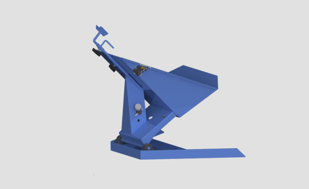 Pneumatic Drum Tilter - Container Tilter - Model 10-2000 - Ensign - Ensign Equipment - Air Operated -2