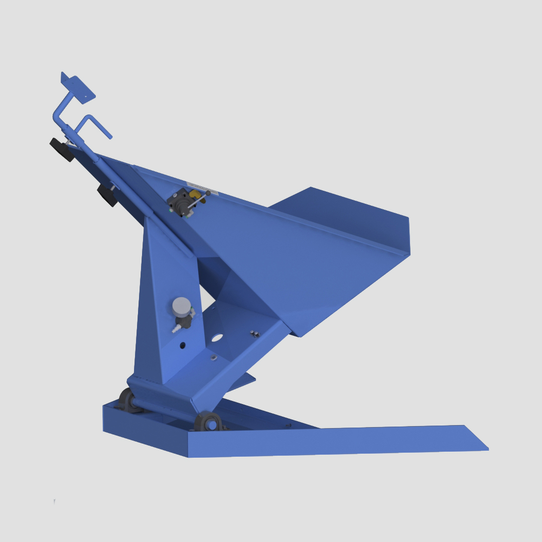 Pneumatic Drum Tilter - Container Tilter - Model 10-2000 - Ensign - Ensign Equipment - Air Operated -3