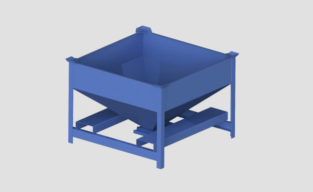Material Handling Portable Storage Bins (Porta-Stors). Portable Bins by Ensign