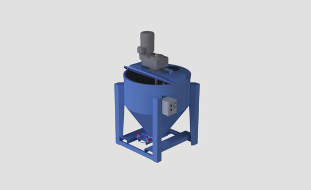 Portable Vertical Ribbon Mixer