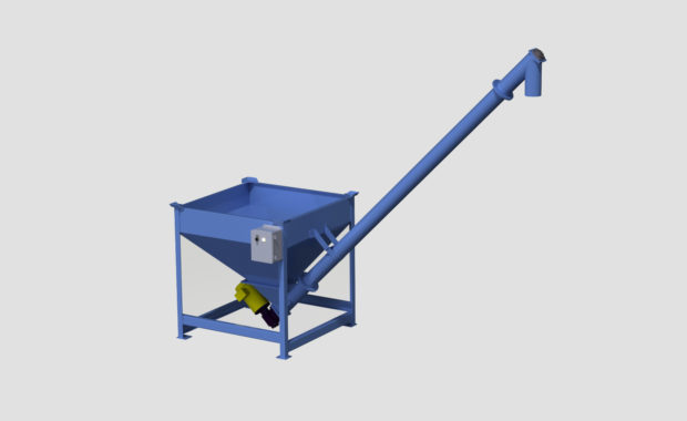 Material Handling Power Hopper (Auger Conveying)