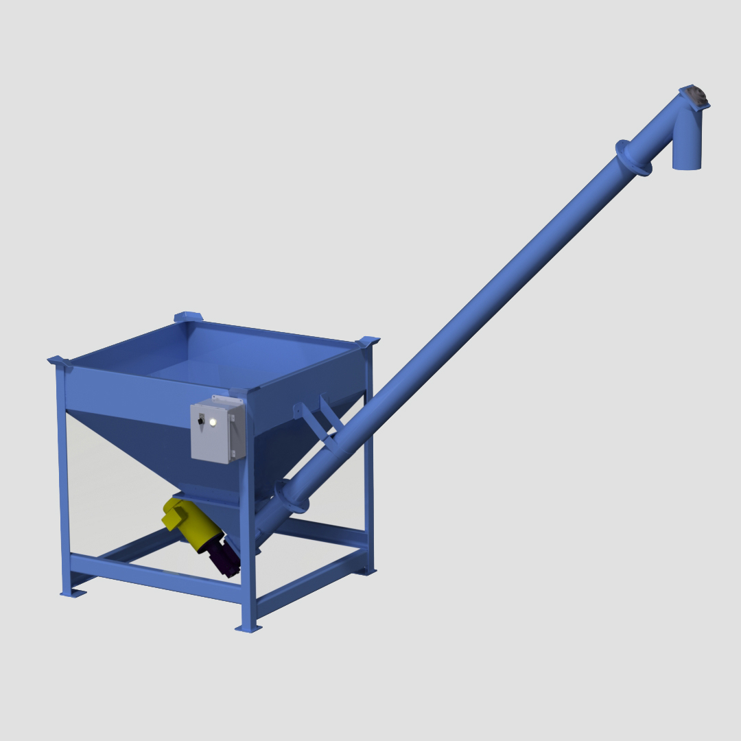 Power Hopper - Power Bin - Auger - Feeder - Mechanical Conveyor - Solid Core - Solidcore - Flex - Helix - Screw - Ensign - Ensign Equipment -3