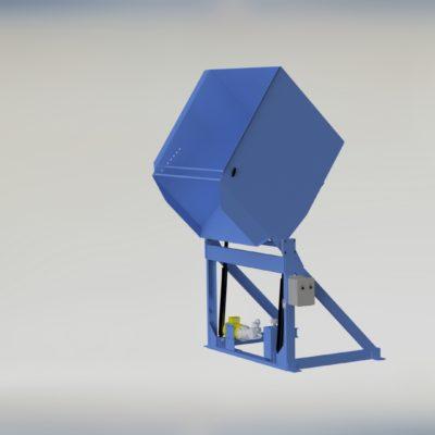 Reliant Container Dumper - Reliant - Gaylord Dumper - Box Dumper - Tote Dumper - Cart Dumper - Model 37-4800 - Ensign - Ensign Equipment