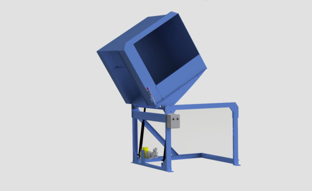 Side Load Container Dumper