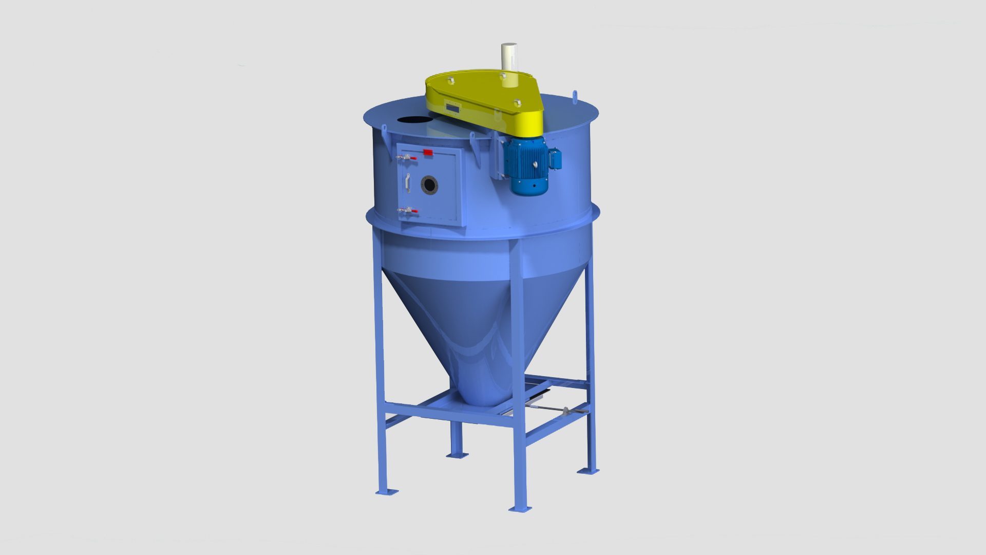 Stationary Vertical Auger Mixers Stationary Mixers For