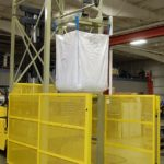 Hoist Super Sack Unloading Station 50-4000 with Safety Light Screen