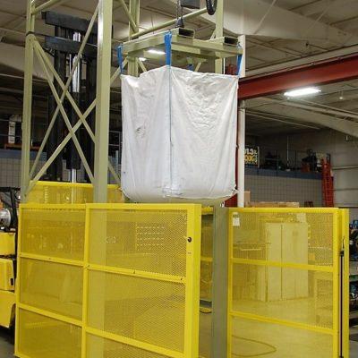 Hoist Super Sack Unloading Station 50-4000 with Safety Light Screen